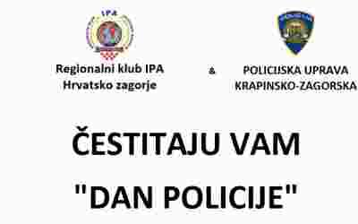 ČESTITAMO DAN POLICIJE!